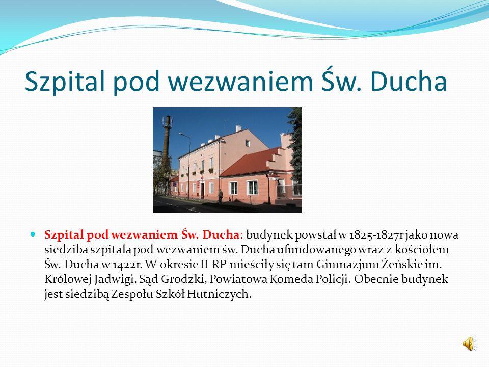 Szpital pod wezwaniem Św. Ducha