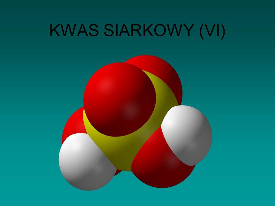 KWAS SIARKOWY (VI)