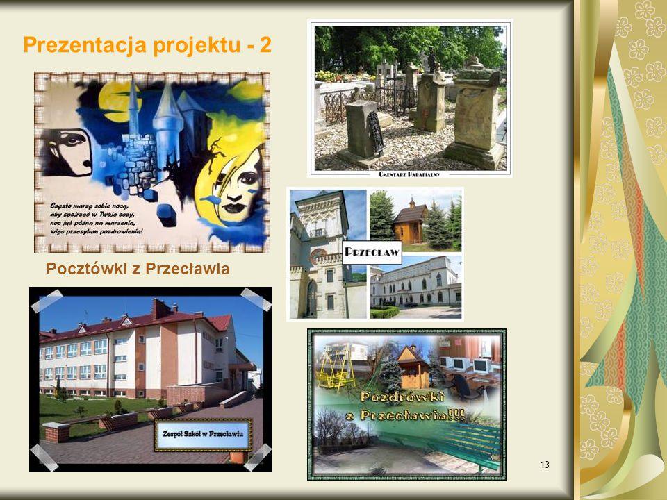 Prezentacja projektu - 2
