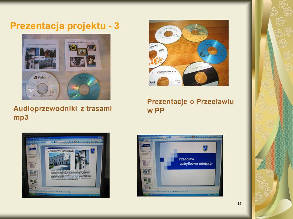 Prezentacja projektu - 3