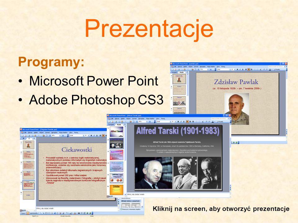 Kliknij na screen, aby otworzyć prezentacje