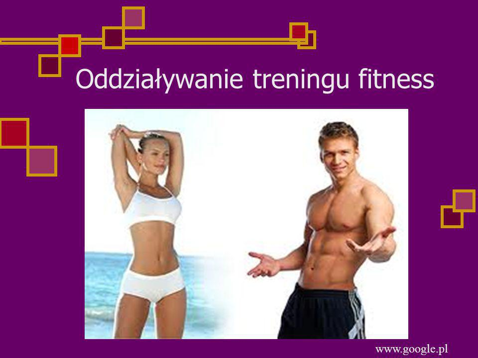 Oddziaływanie treningu fitness