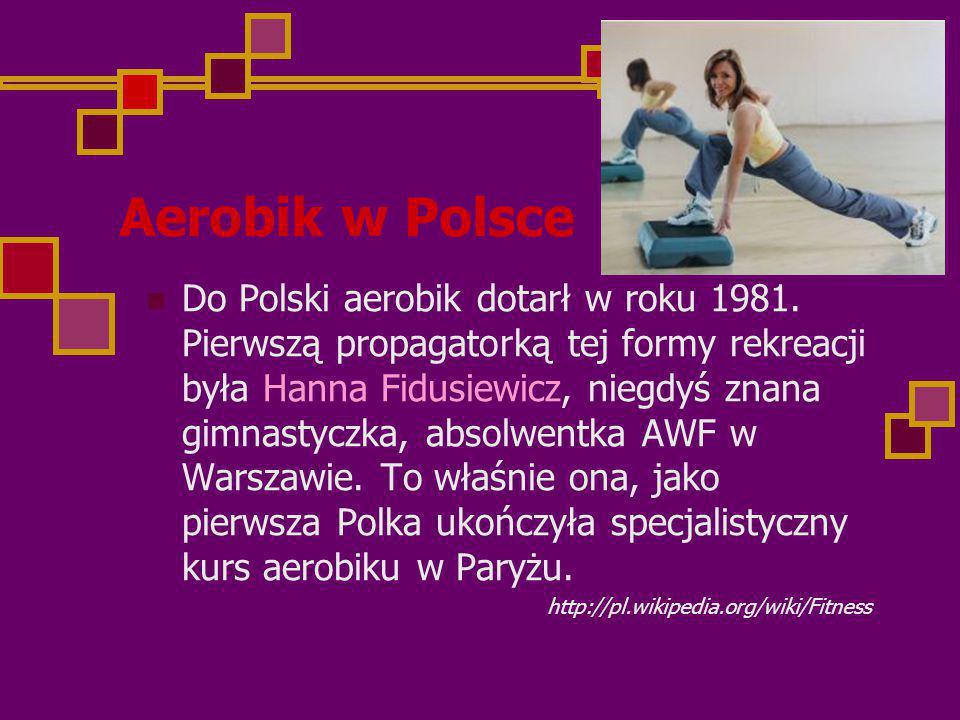 Aerobik w Polsce
