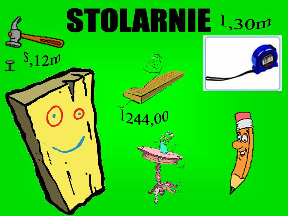 STOLARNIE 1,30m 5,12m 1244,00