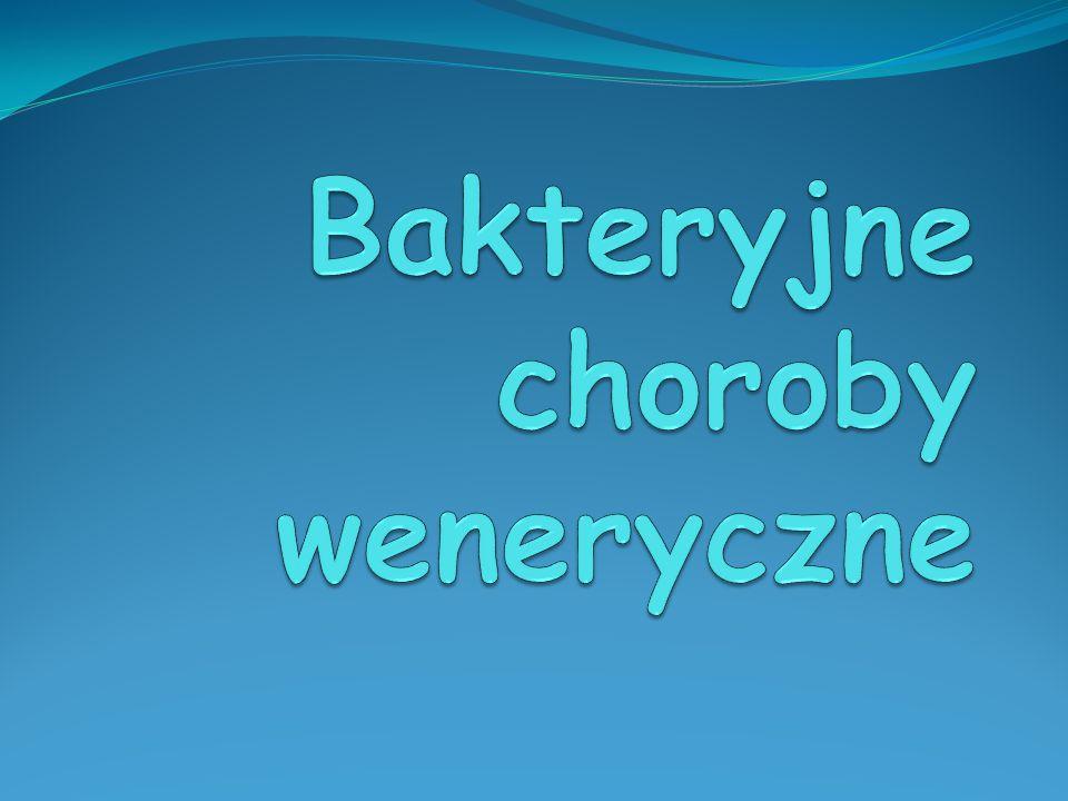 Bakteryjne choroby weneryczne