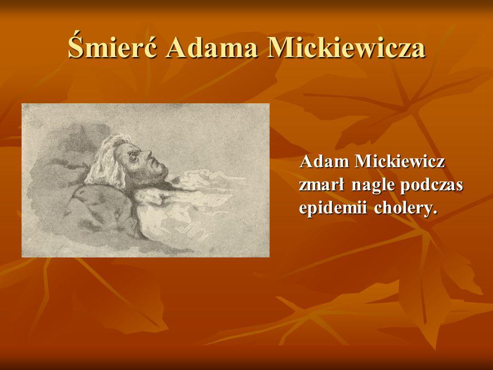 Śmierć Adama Mickiewicza