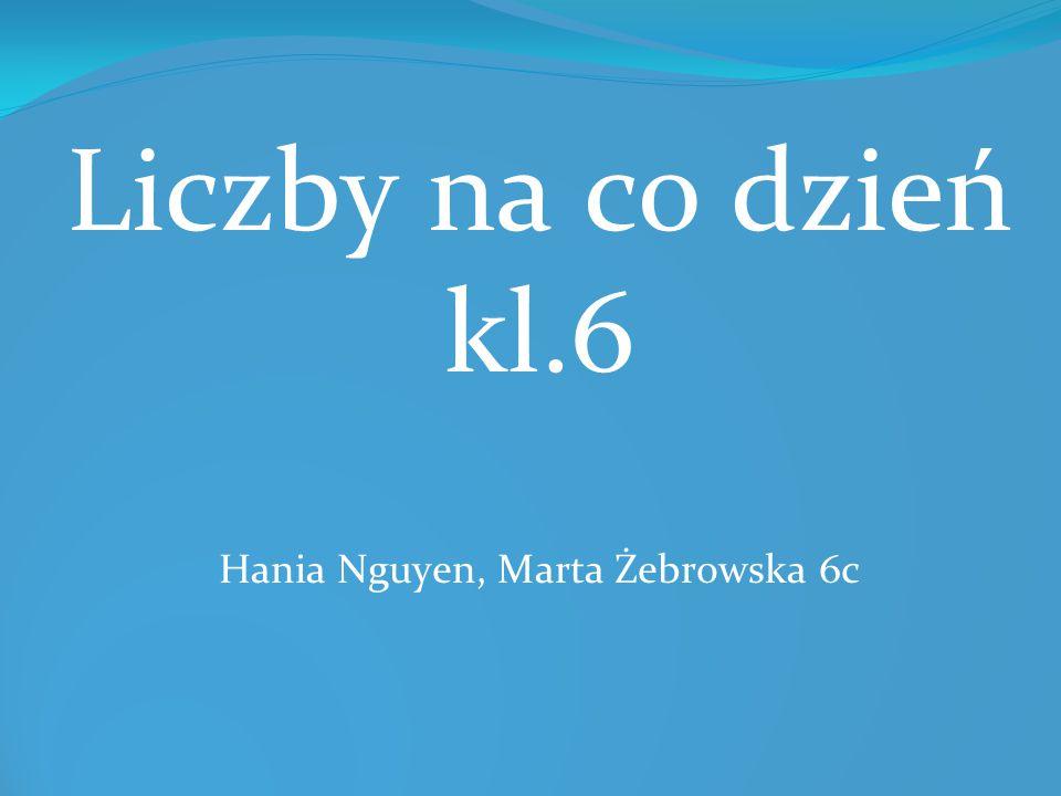 Hania Nguyen, Marta Żebrowska 6c