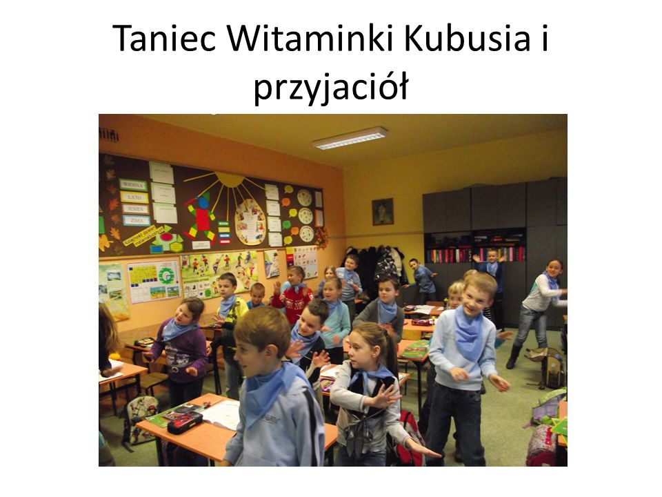 Taniec Witaminki Kubusia i przyjaciół