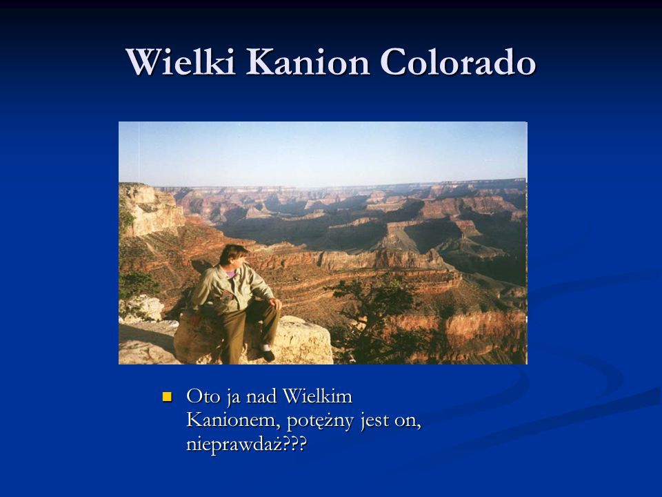Wielki Kanion Colorado
