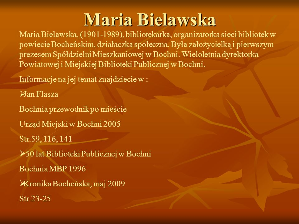 Maria Bielawska