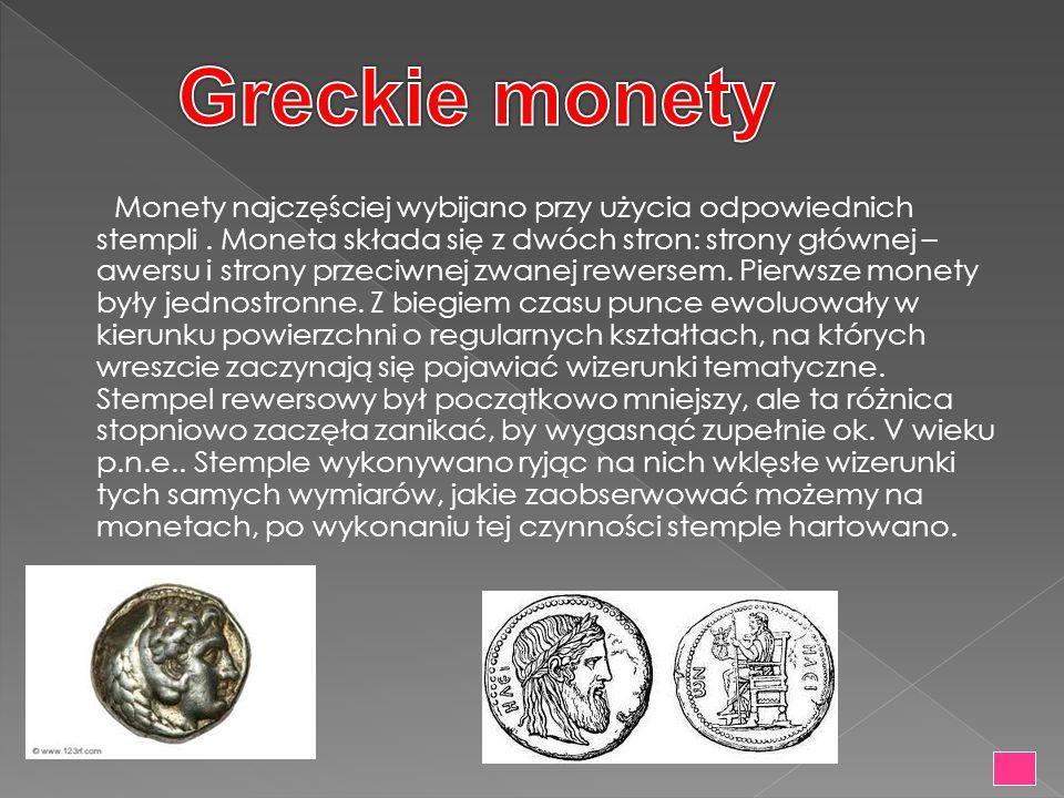 Greckie monety