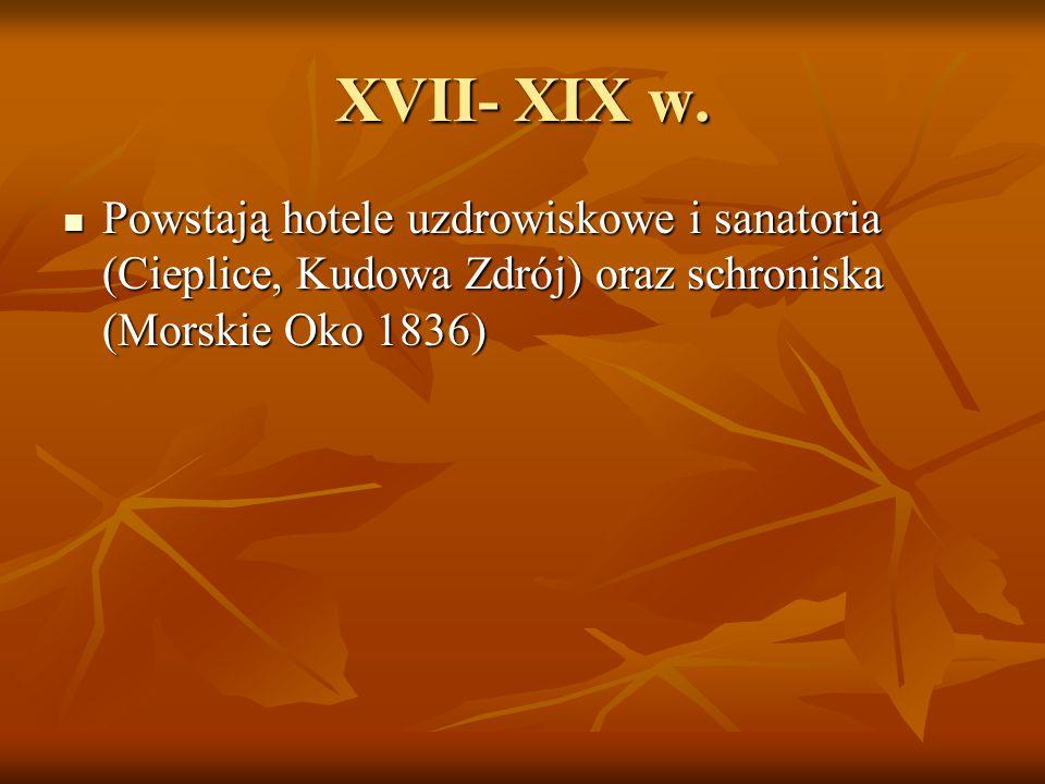XVII- XIX w.
