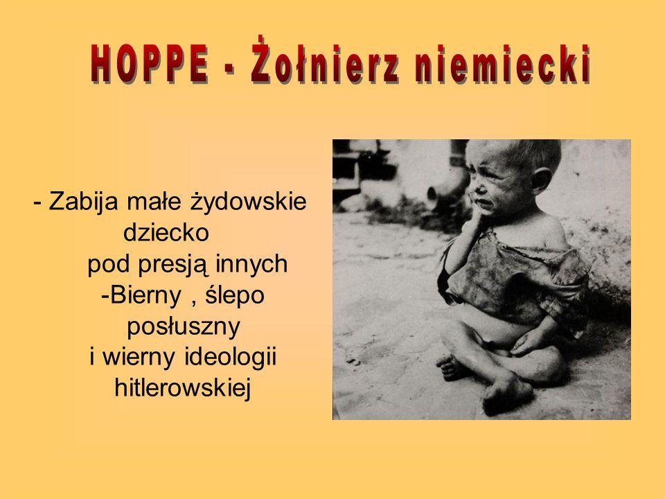 HOPPE - Żołnierz niemiecki