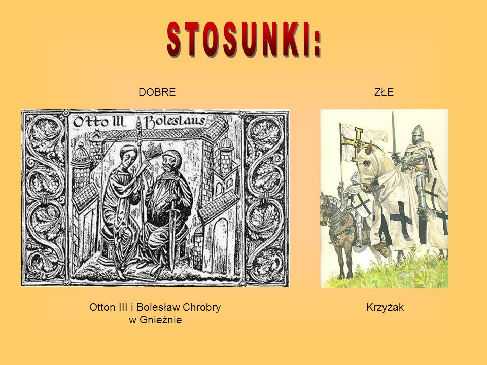 Otton III i Bolesław Chrobry w Gnieźnie