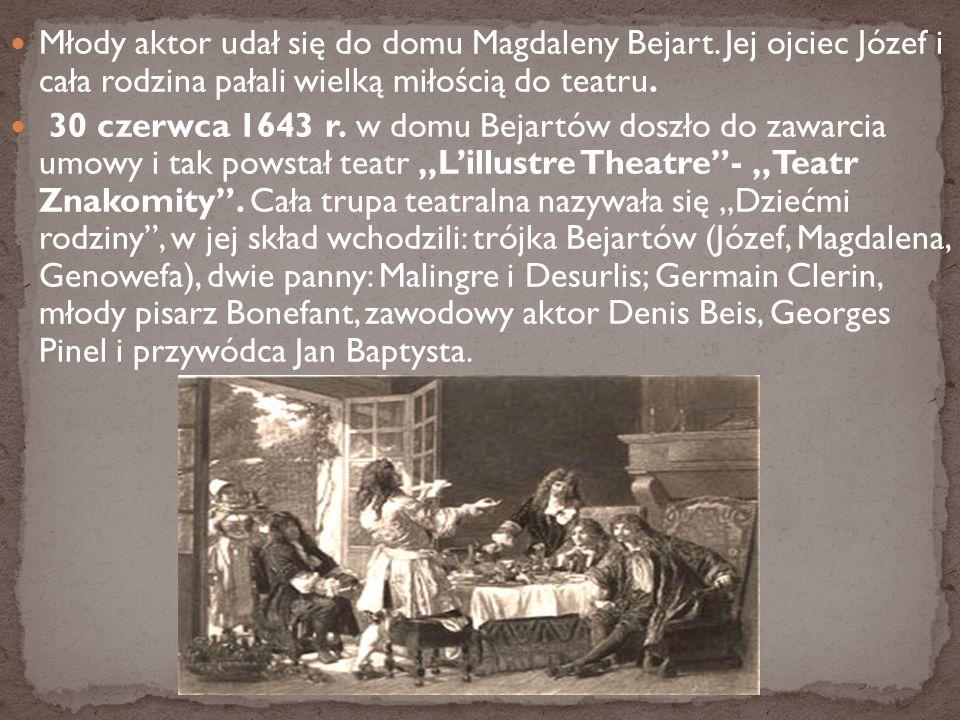 Młody aktor udał się do domu Magdaleny Bejart