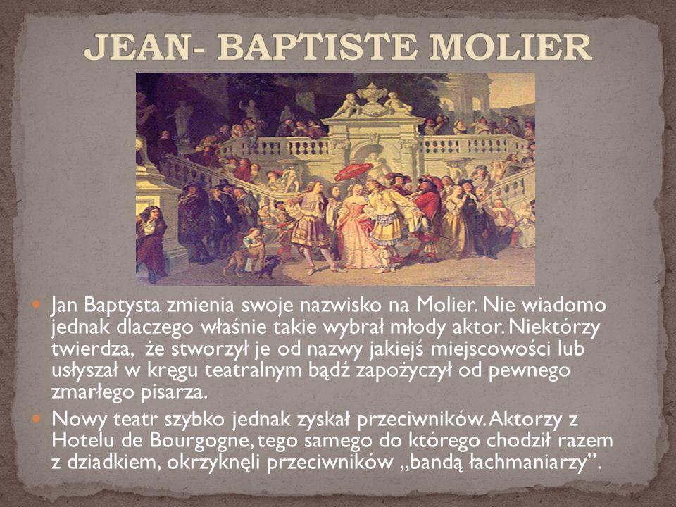 JEAN- BAPTISTE MOLIER