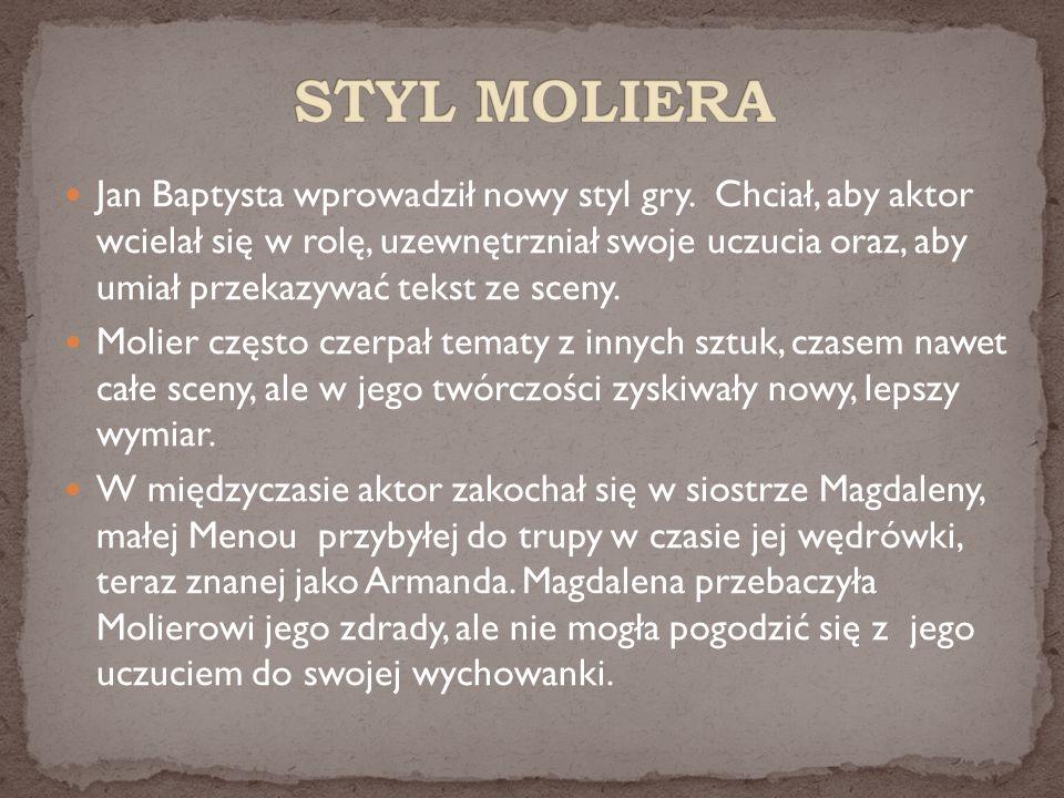 STYL MOLIERA