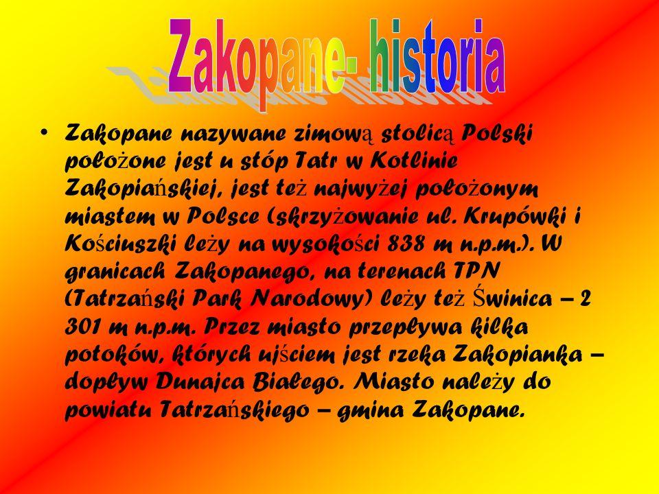 Zakopane- historia