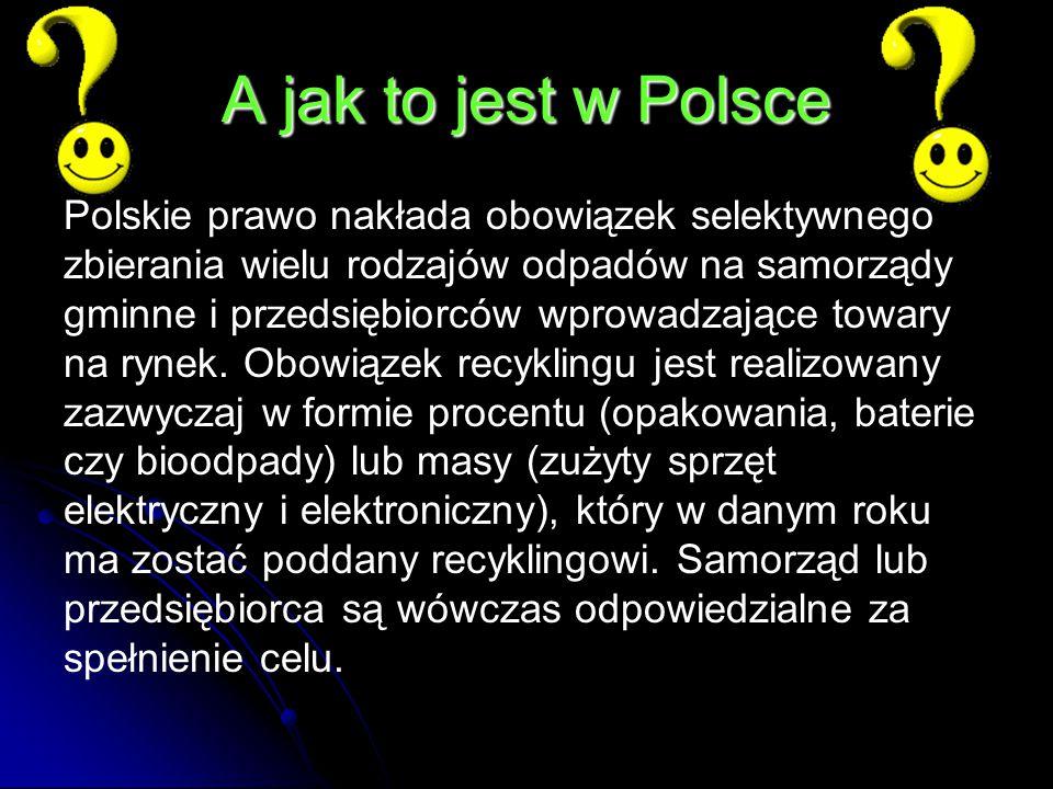 A jak to jest w Polsce