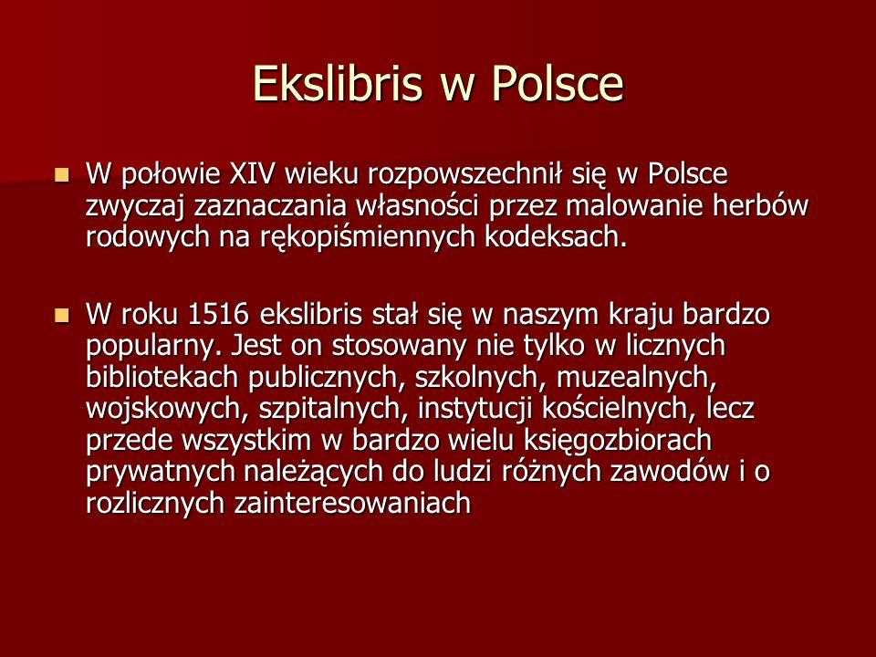 Ekslibris w Polsce