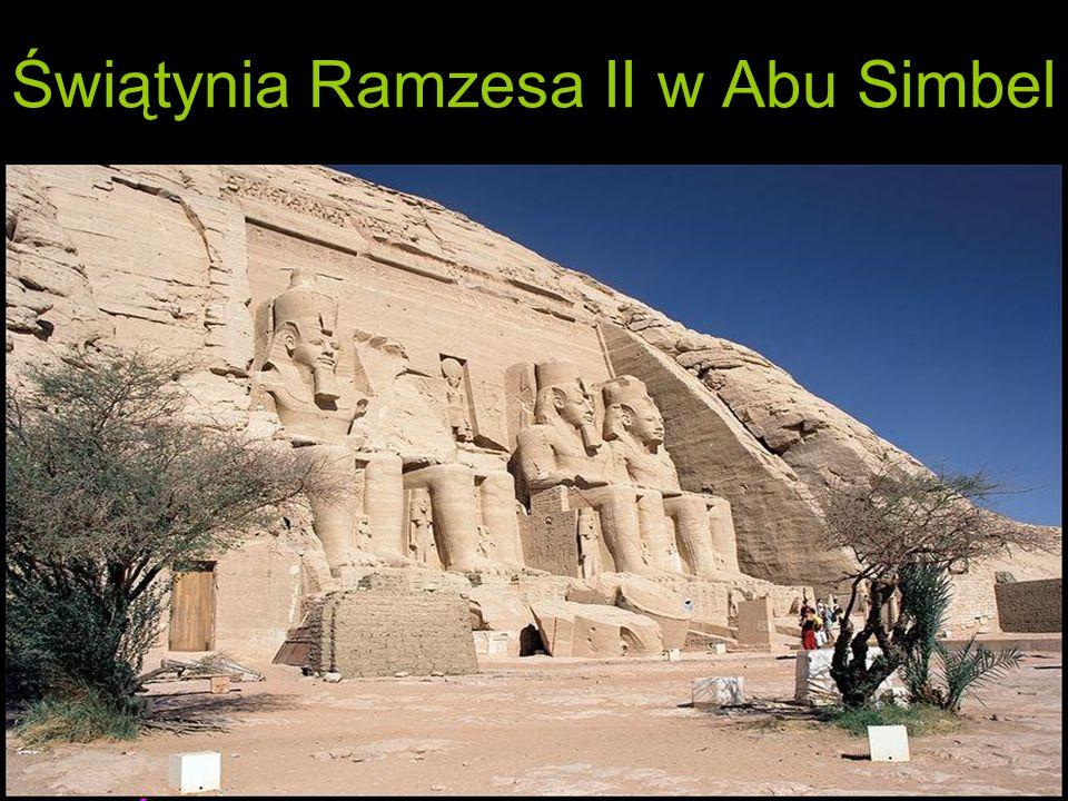 Świątynia Ramzesa II w Abu Simbel
