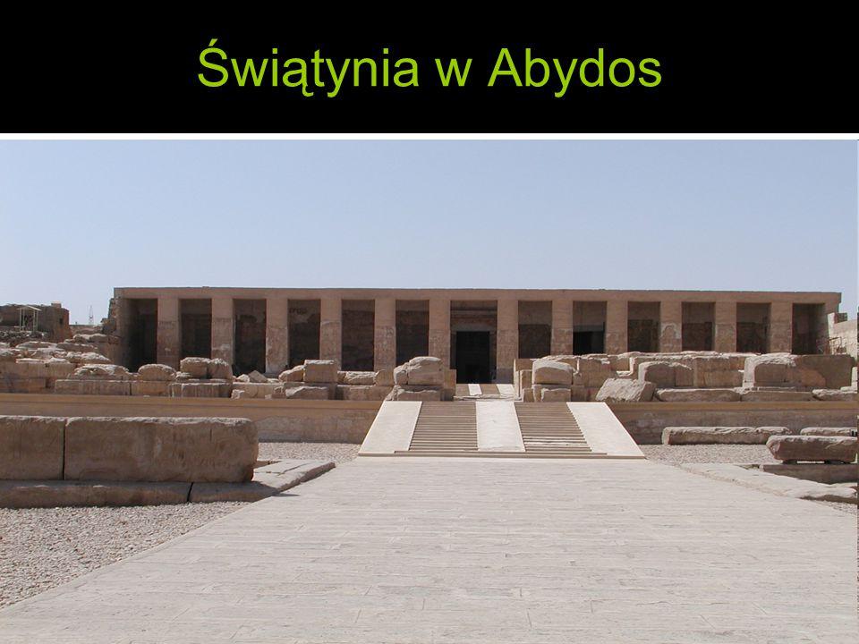 Świątynia w Abydos