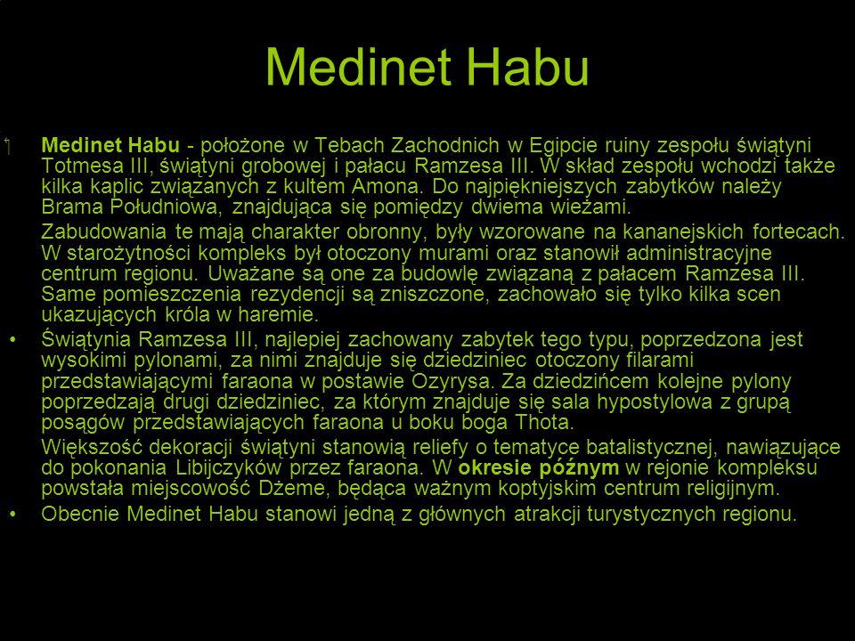 Medinet Habu