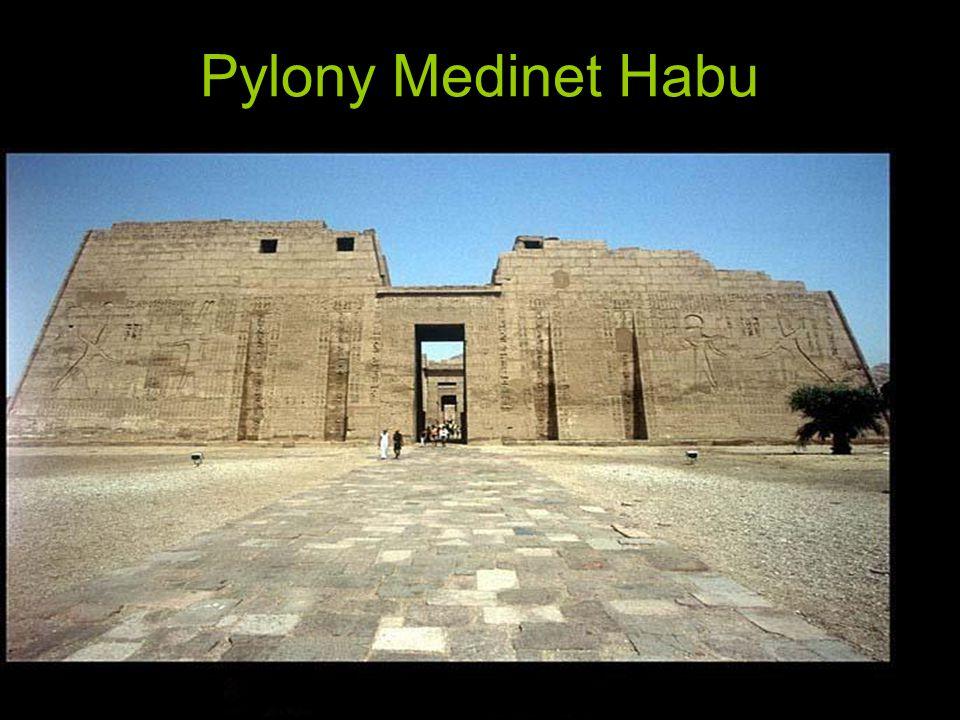 Pylony Medinet Habu