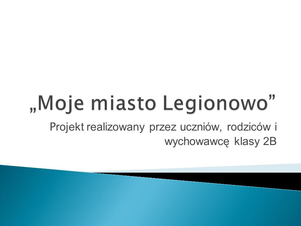 """Moje miasto Legionowo"