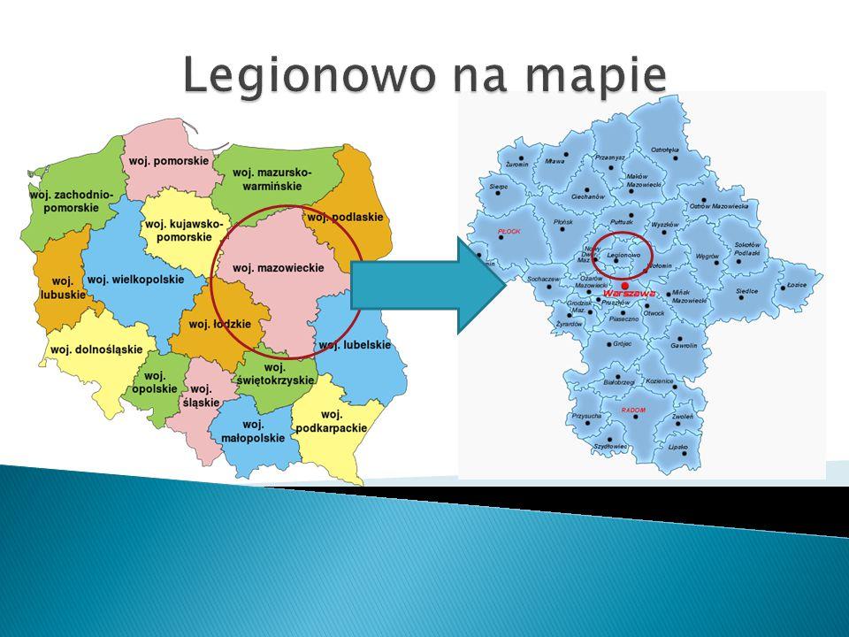 Legionowo na mapie
