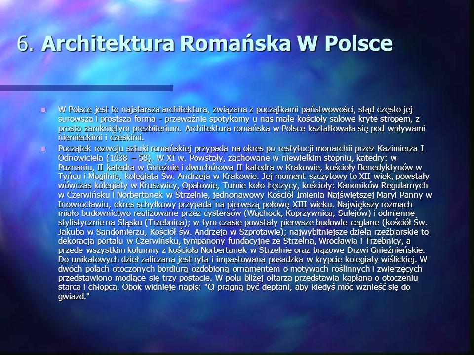 6. Architektura Romańska W Polsce