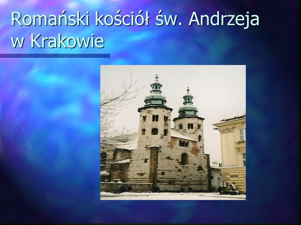 Romański kościół św. Andrzeja w Krakowie