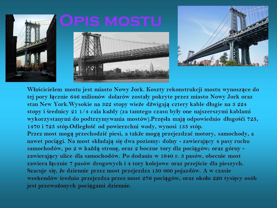 Opis mostu
