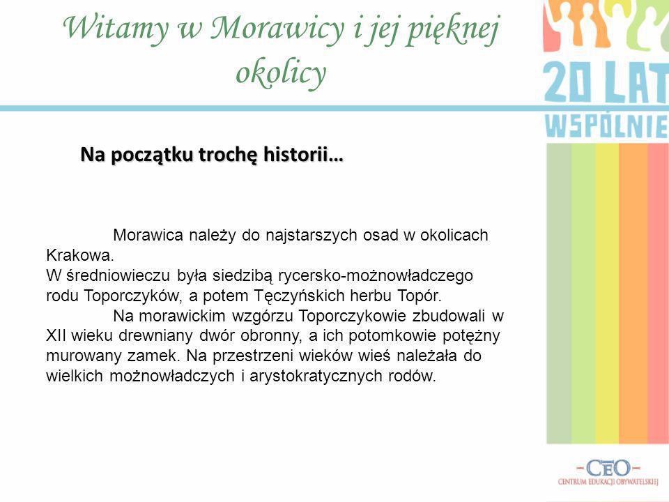 Witamy w Morawicy i jej pięknej okolicy