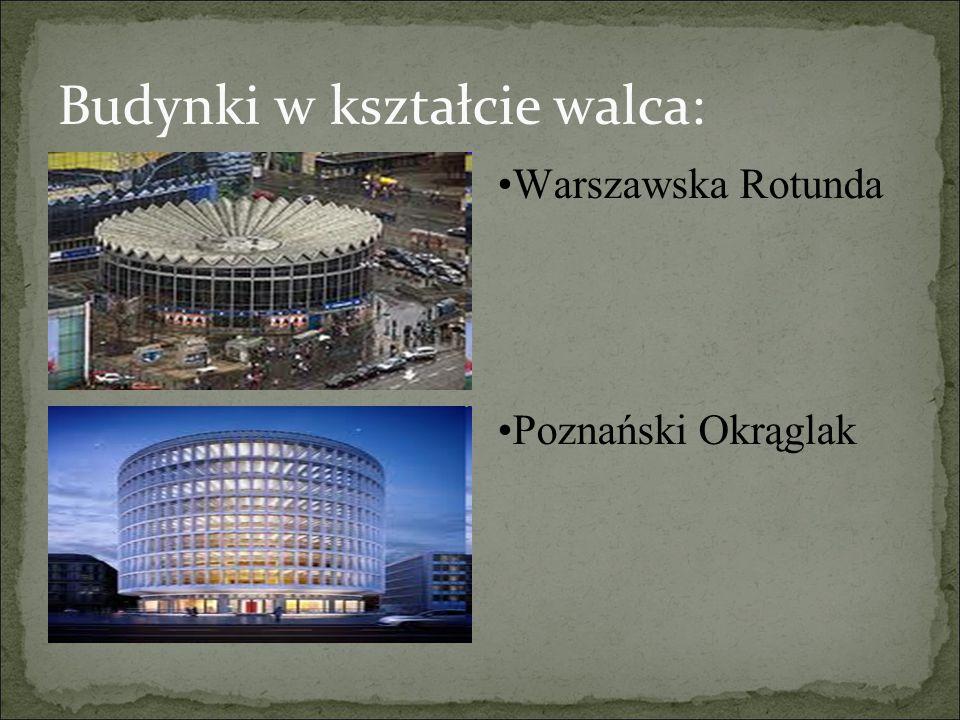 Budynki w kształcie walca: