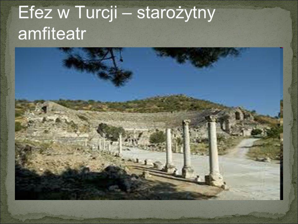 Efez w Turcji – starożytny amfiteatr