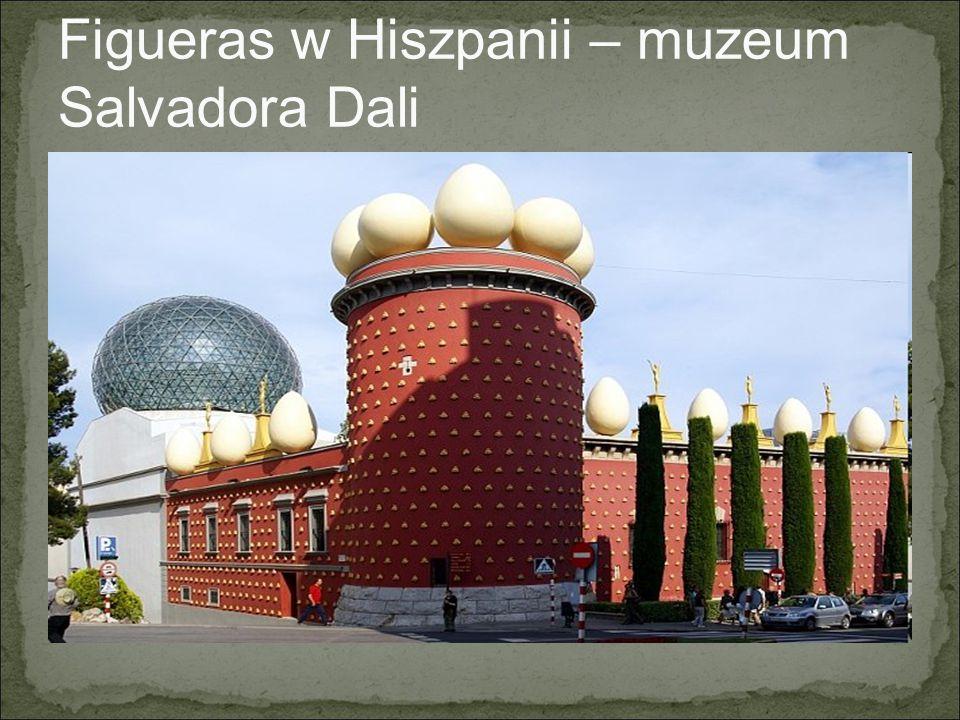 Figueras w Hiszpanii – muzeum Salvadora Dali