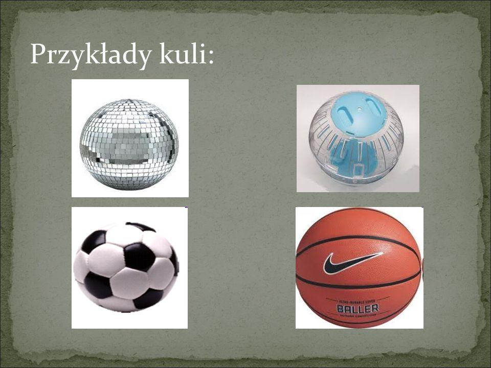 Przykłady kuli: