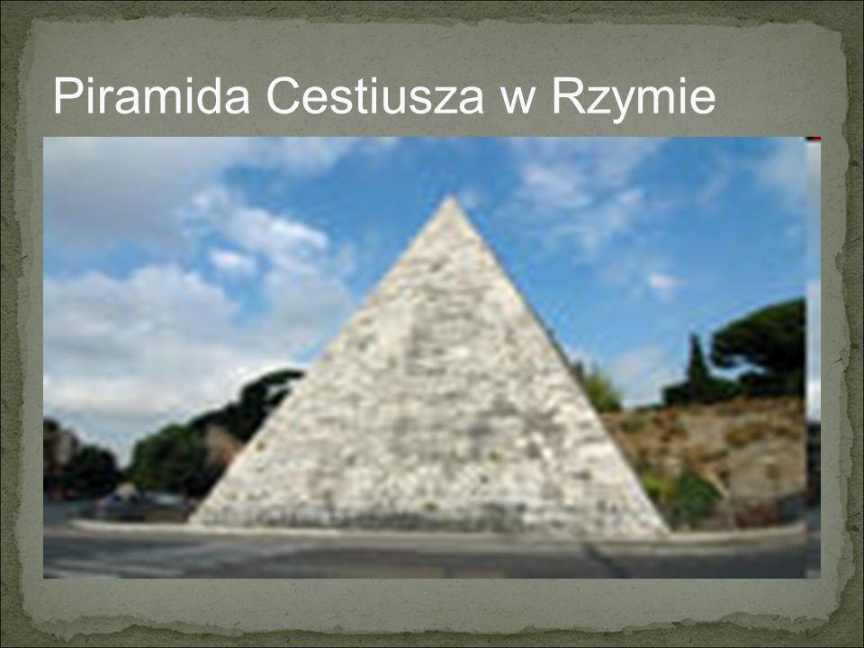 Piramida Cestiusza w Rzymie