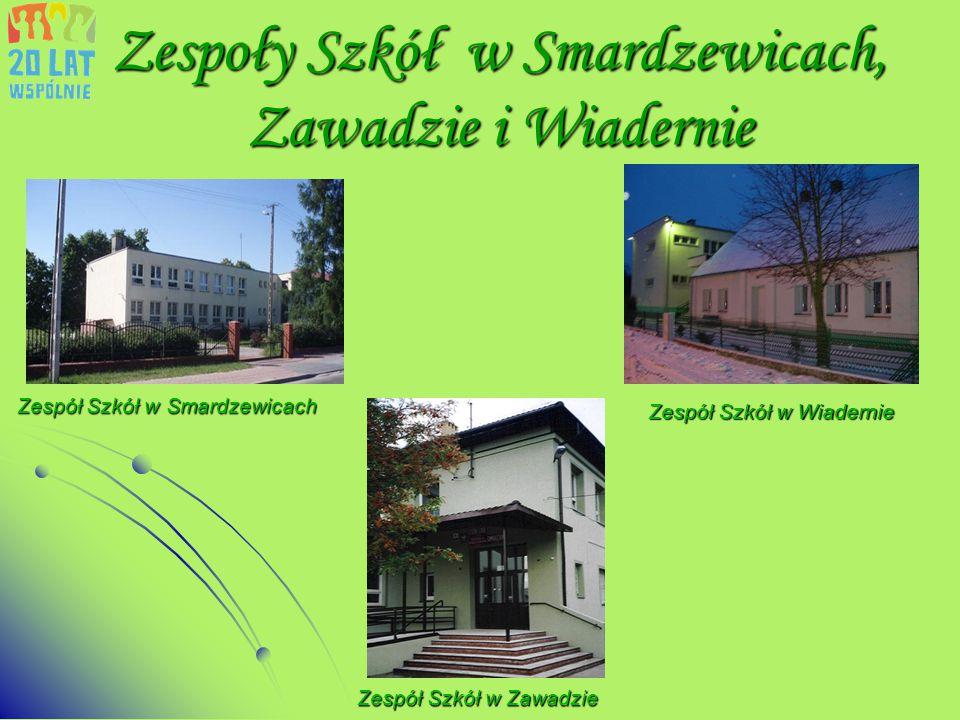 Zespoły Szkół w Smardzewicach, Zawadzie i Wiadernie
