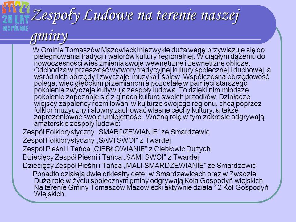 Zespoły Ludowe na terenie naszej gminy