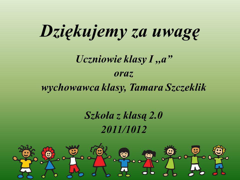 wychowawca klasy, Tamara Szczeklik