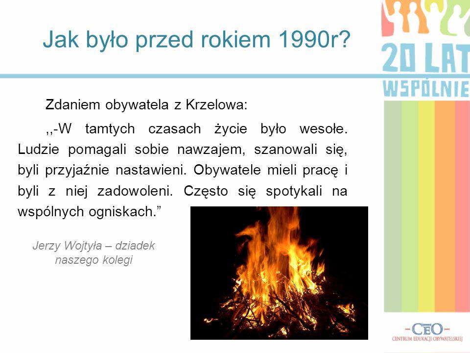 Jerzy Wojtyła – dziadek naszego kolegi