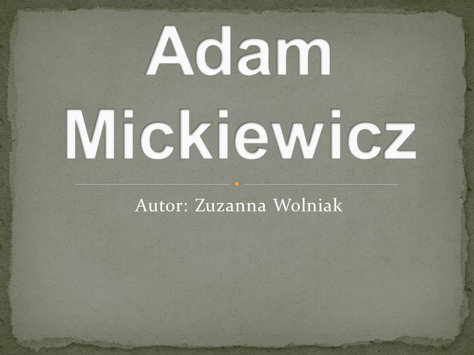 Autor: Zuzanna Wolniak