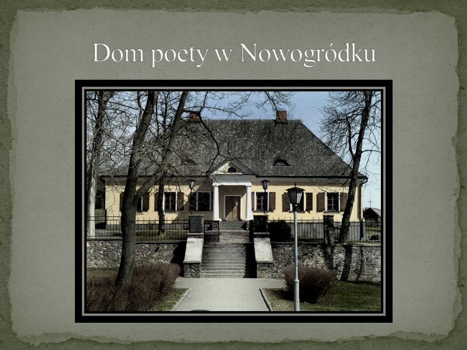 Dom poety w Nowogródku