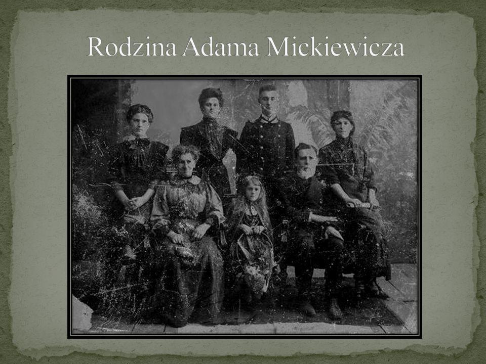Rodzina Adama Mickiewicza