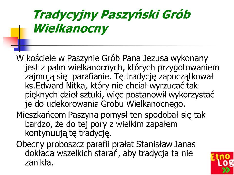 Tradycyjny Paszyński Grób Wielkanocny