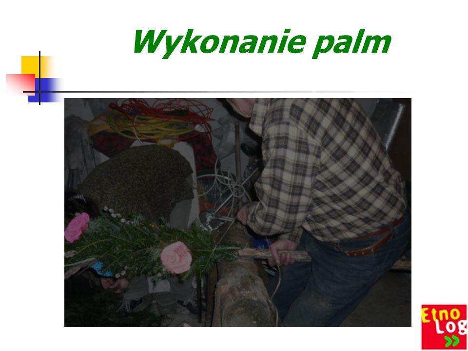 Wykonanie palm