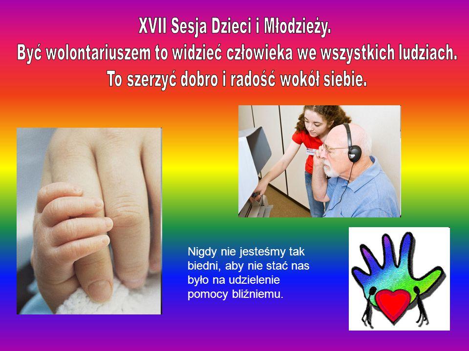 XVII Sesja Dzieci i Młodzieży.