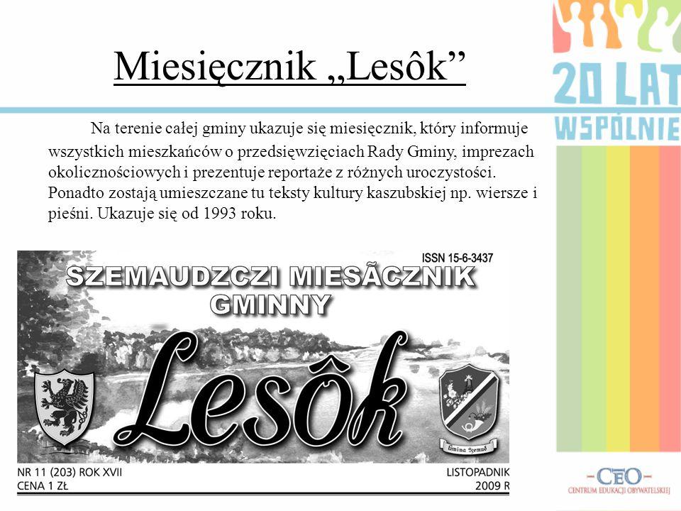 """Miesięcznik """"Lesôk"""
